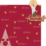 Very Merry: Candlelight Processional 2 Piece Laser Die Cut Kit