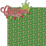 Very Merry: Christmas Mouse Style 2 Piece Laser Die Cut Kit