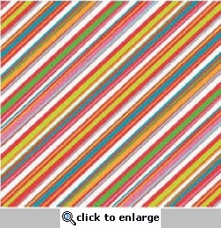 Very Merry: Christmas Stripes 12 x 12 Flat Paper