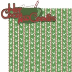 Very Merry: Hot Cocoa and Cookies 2 Piece Laser Die Cut Kit