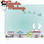 Very Merry: Santa Mickey 2 Piece Laser Die Cut Kit