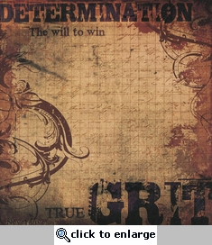 Victory: Grit 12 x 12 Double-Sided Cardstock