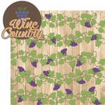Vino: Wine Country 2 Piece Laser Die Cut Kit