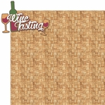 Vino: Wine Tasting 2 Piece Laser Die Cut Kit