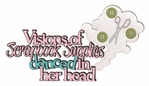 Visions Of Scrapbook Supplies Danced In Her Head Laser Die Cut