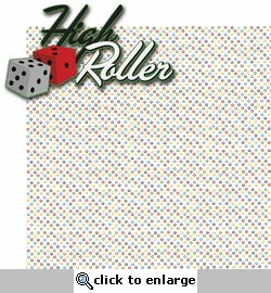 Viva Las Vegas: High Roller 2 Piece Laser Die Cut Kit