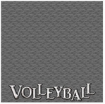 Volleyball 12 x 12 Double-Sided Paper