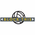 Volleyball: Block This Laser Die Cut
