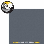 Volleyball: Bump Set Spike 2 Piece Laser Die Cut Kit