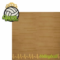 Volleyball: Queen Court 2 Piece Laser Die Cut Kit