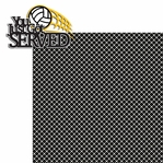 Volleyball: You Just Got Served 2 Piece Laser Die Cut Kit