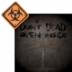 Walking Dead: Danger Ahead 2 Piece Laser Die Cut Kit