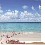 Warm Wishes: Christmas At The Beach 2 Piece Laser Die Cut Kit