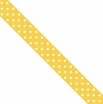 Washi Tape: Bumblebee Swiss Dot