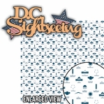 Washington D.C. : D.C. Sightseeing 2 Piece Laser Die Cut Kit