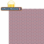 Washington D.C: Jefferson Memorial 2 Piece Laser Die Cut Kit