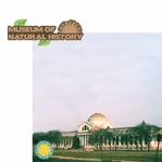 Washington D.C: Museum of Natural History 2 Piece Laser Die Cut Kit