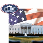 Washington D.C: The White House 2 Piece Laser Die Cut Kit
