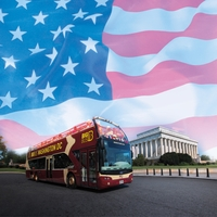 Washington D.C: Washington D.C Bus Tour 12 x 12 Paper