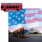 Washington D.C: Washington D.C Bus Tour 2 Piece Laser Die Cut Kit