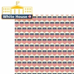 Washington D.C: White House 2 Piece Laser Die Cut Kit