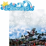 Water Parks: Blizzard 2 Piece Laser Die Cut Kit