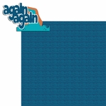 Water Play: Again Again 2 Piece Laser Die Cut Kit