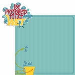 Water Play: Prepare to get wet 2 Piece Laser Die Cut Kit