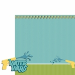 Water Play: Water Wars 2 Piece Laser Die Cut Kit