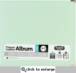 We R Mint Faux Leather 3-Ring Binder