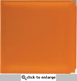We R Orange Soda Faux Leather 3-Ring Binder