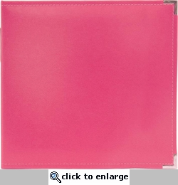 We R Strawberry Faux Leather 3-Ring Binder
