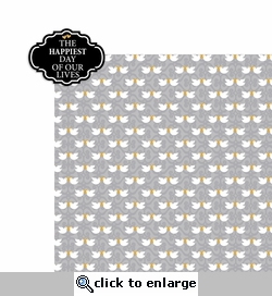 Wedding: Happiest Days 2 Piece Laser Die Cut Kit