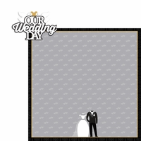 Wedding: Our Wedding 2 Piece Laser Die Cut Kit