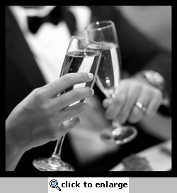 Wedding: Toasting Flutes 12 x 12 Paper