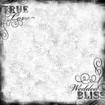 Wedding: Wedded Bliss Brocade 12 x 12 Paper
