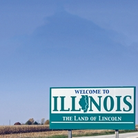 Welcome To: Illinois 12 x 12 Paper