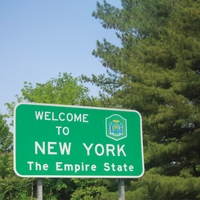 Welcome To: New York 12 x 12 Paper