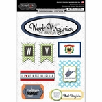 West Virginia Journal - Dimensional Sticker