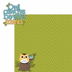 What a Hoot: Owl Always Be Your Friend 2 Piece Laser Die Cut Kit