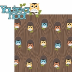 What a Hoot: You're A Hoot 2 Piece Laser Die Cut Kit