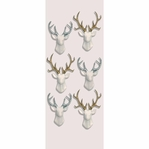 White Stags Mini Stickers
