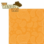 Wild West: Western Way 2 Piece Laser Die Cut Kit