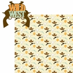 Wild West: Wild West 2 Piece Laser Die Cut Kit