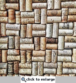 Wine Country: Corks 12 x 12 Paper