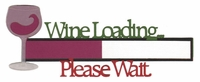 Wine Loading Laser Die Cut