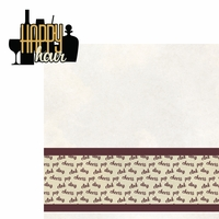 Wine Lover: Happy Hour 2 Piece Laser Die Cut Kit