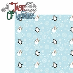 Winter Chill: A Taste Of Winter 2 Piece Laser Die Cut Kit