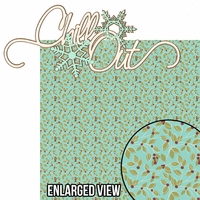 Winter Chill: Chill Out 2 Piece Laser Die Cut Kit