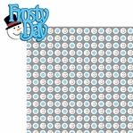 Winter Frolic: Frosty Day 2 Piece Laser Die Cut Kit